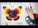 Как нарисовать бабочку! Рисуем с детьми! Dari_Art