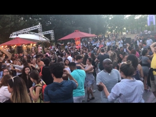 Bachata & salsa open air