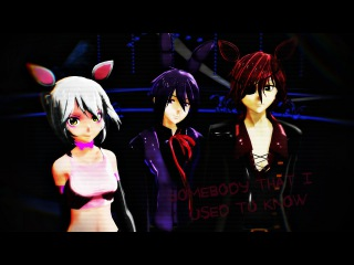 [MMD - FNAF ] -  Somebody that I used to know