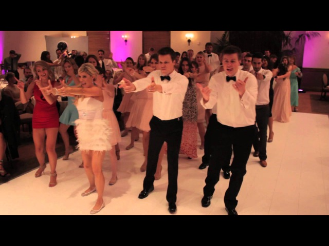 FLASH MOB WEDDING dance Kesha's Timber