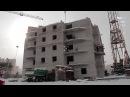 Реконструкция и усиление фундамента 16-ти этажного жилого дома при помощи винтовых свай