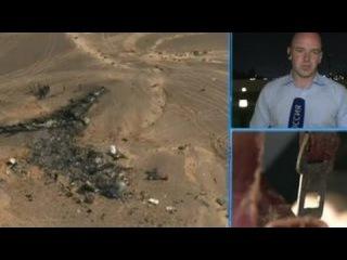 """На месте крушение самолета на Синае работают спасатели и следователи из России и Египта. Корреспондент """"России 24"""" рассказал о том, как это происходит."""