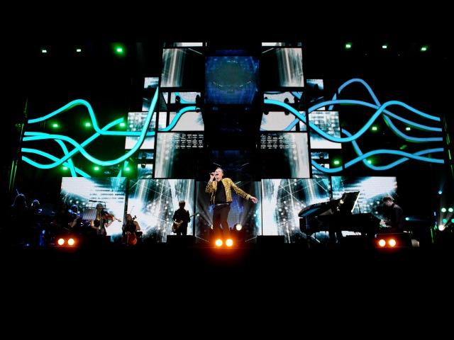 Calvin Harris with John Newman Ellie Goulding   BBC Music Awards - BBC