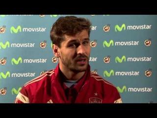 MOVISTAR - Entrevista exclusiva a Fernando Llorente. Movistar, la Voz de la selección. 2014