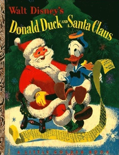 Walt Disney's Donald Duck and Santa Clause