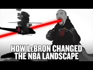 How LeBron James changed the NBA landscape