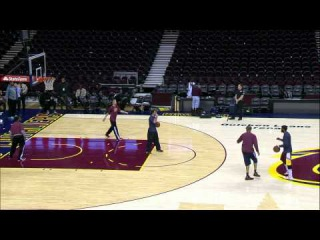 Kyrie Irving Putting in Work After Loss
