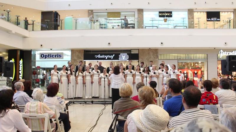 Хор Crescendo Концерт хоровых коллективов в рамках III Международного молодёжного фестиваля хоровой музыки им Габриэля Музыч