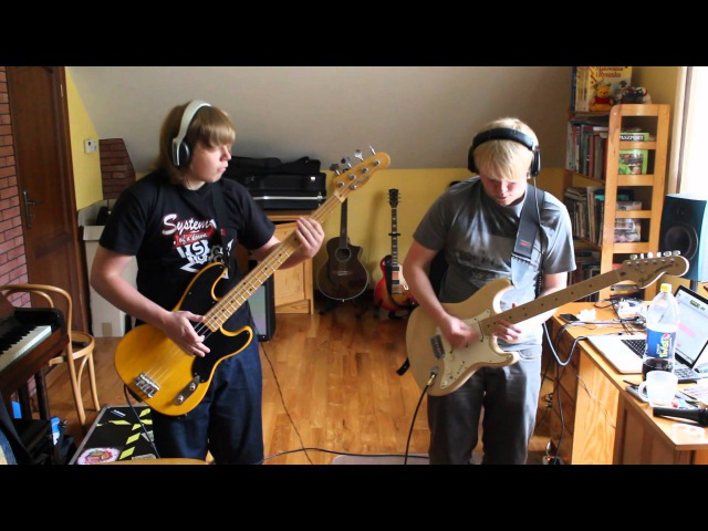 Red Hot Chili Peppers Aeroplane bass guitar cover