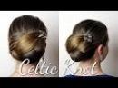 Haartraum Keltischer Knoten Anleitung