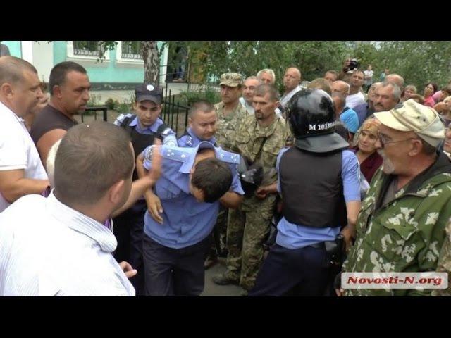 Жесткое убийство Цукермана Полицейскими Врадиевка 2