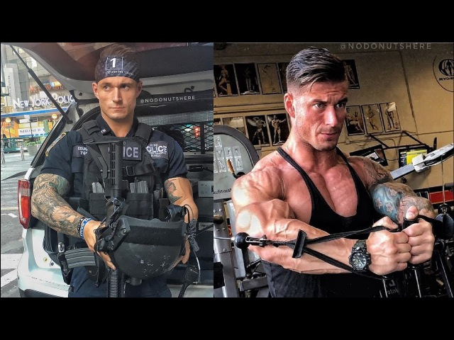 Michael Counihan NYPD POLICE WORKOUT
