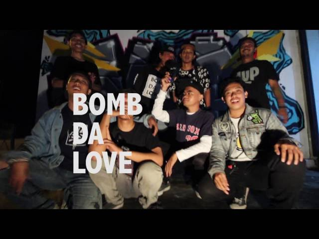 Preview 1UP X BOMBDALOVE from Bali island by Devyatsot Indonesia 2016