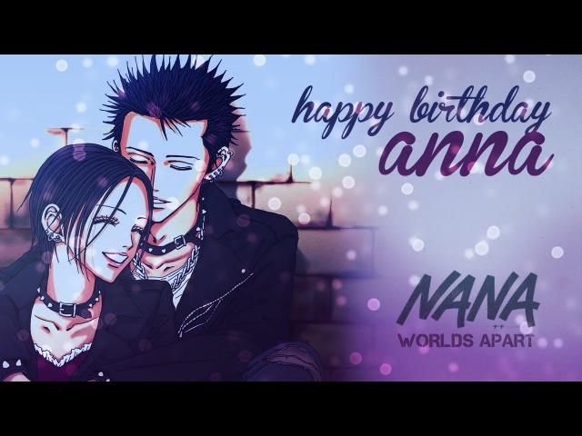 NANA - Worlds Apart AMV   Ren x Nana