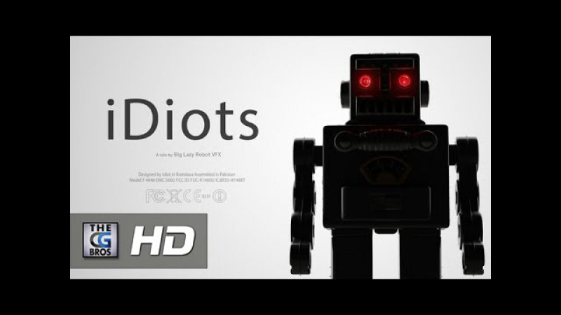 CGI VFX Animated Short : iDiots - A tale by Big Lazy Robot VFX | TheCGBros