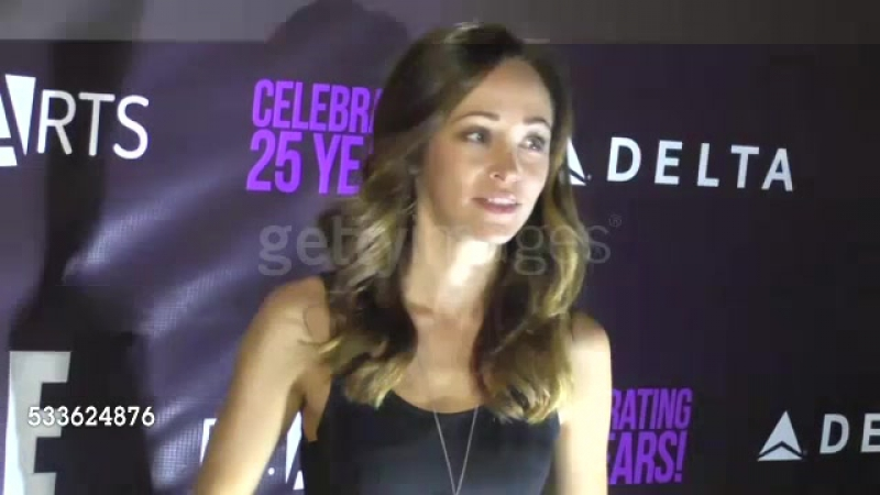 Autumn Reeser at the Party! by P.S. ARTS in Los Angeles on May 20, 2016