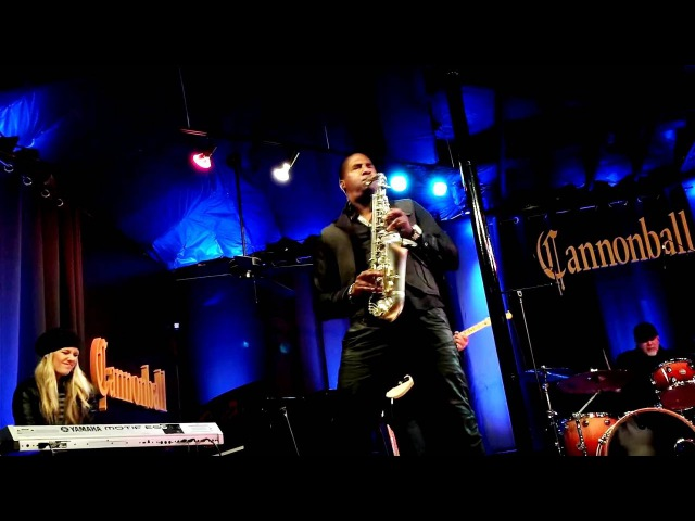 Eric Darius live I Wish by Stevie Wonder Cannonball Saxophones