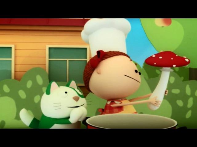 Аркадий Паровозов спешит на помощь Неизвестные грибы и ягоды мультфильмы детям серия 11
