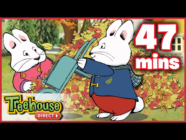 Max and Ruby FUN Fall Compilation Funny Cartoons for Kids By Treehouse Direct