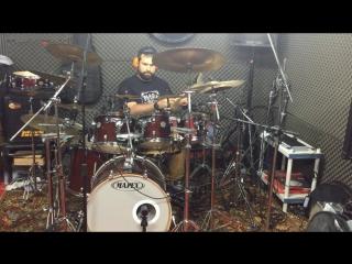 Pirates of the caribbean drum metal cover