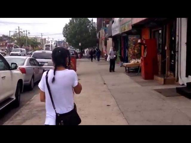 Американское гетто Бедные районы Филадельфии США