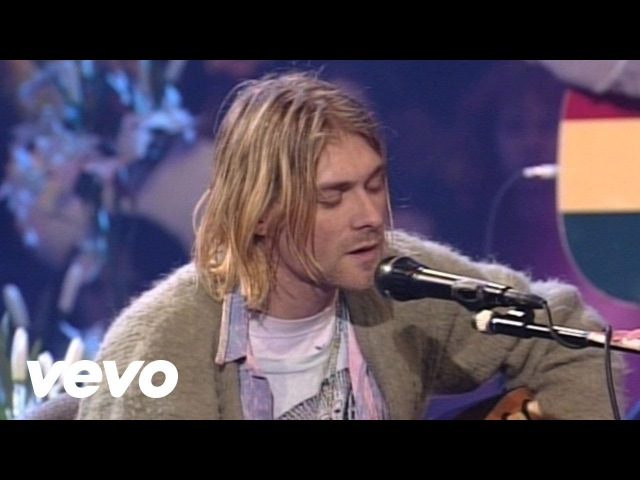 Nirvana The Man Who Sold The World MTV Unplugged