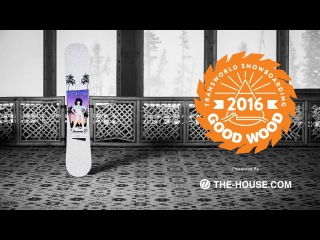 Best Men's All Mountain Snowboards : Stepchild Sleazy Rider : 2015-2016 Good Wood Board Test