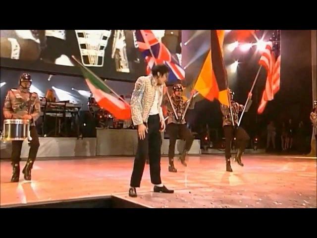 Michael Jackson - (TDCAU Istrumental intro History) - Live - [HD 720p - widescrean]