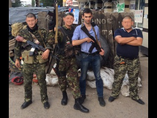 . CORP первая командировка на Донбасс/ . CORP. Fighting Novorossiya