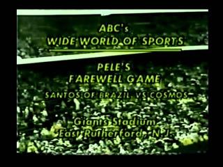 REI PELÉ - Despedida NY Cosmos 2 x 1 Santos FC (1977) - Jogo Completo (720x480)