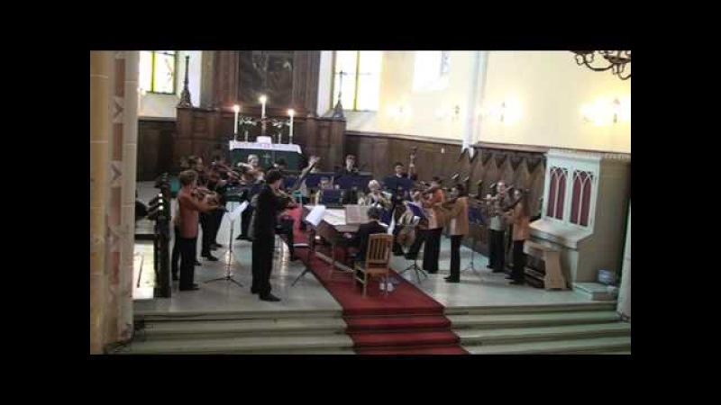 EUBO 2010 directed by Lars Ulrik Mortensen Muffat Convalescentia Concert in Latvia Cesis