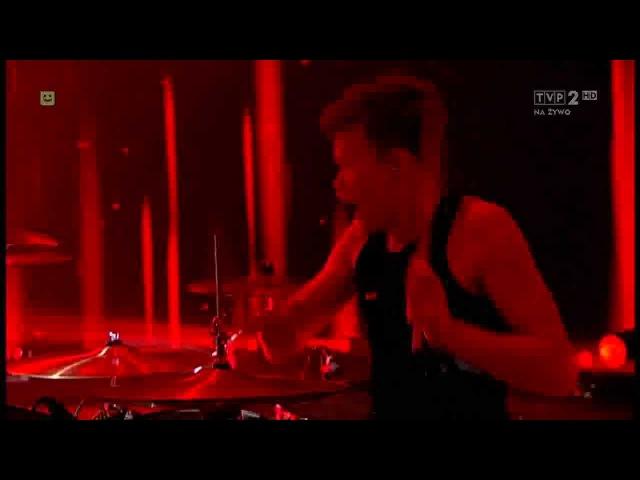 The Rasmus - Im a mess live @ Lato ZET i Dwójki (Poland) 26.08.2012