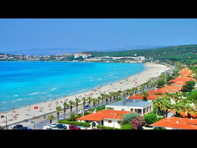 Пляжи Измира Чешме пляж Ылыджа TURKEY IZMIR ILICA plaji