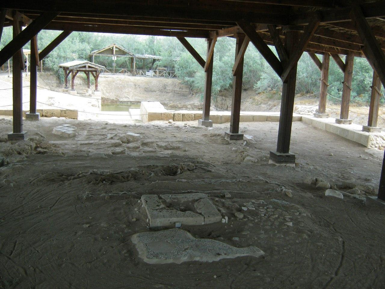 место крещения Иисуса Христа Иоанном Предтечей