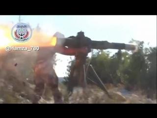 Видео задержания операторов TOW, которые возможно стреляли в российский вертолёт Ми-8АМТШ