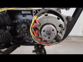 Проводка мотоцикла Минск (Электрика|Электрооборудование) | Реставрация/восстановление , зажигание.