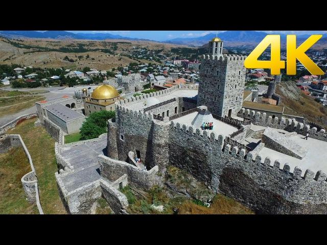 Rabati Castle რაბათის ციხე Крепость Рабат - 4K aerial video footage DJI Inspire 1