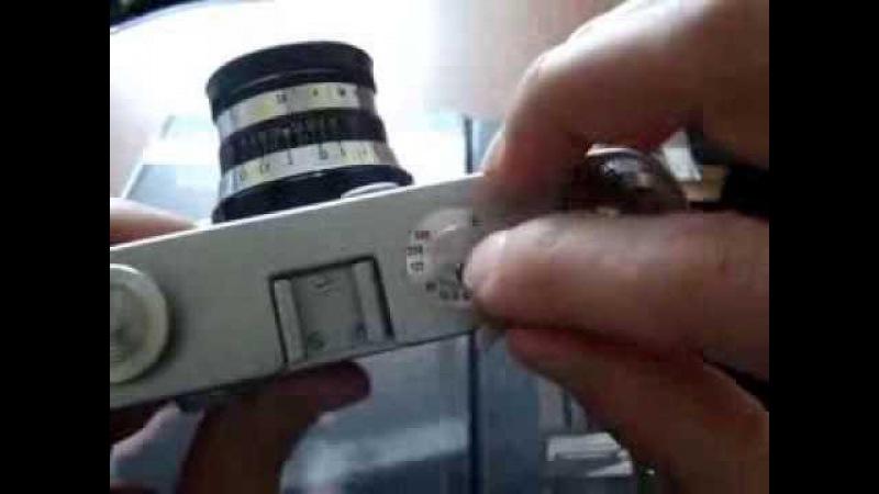 установка экспозиции на механическом фотоаппарате фэд зенит и прочие камеры