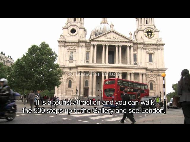 Loescher English Corner 1 7 London sightseeing with subtitles