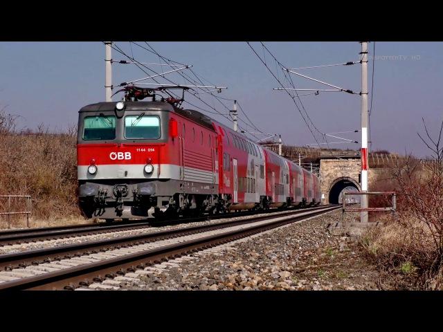 ÖBB Südbahn zwischen Mödling und Pfaffstätten