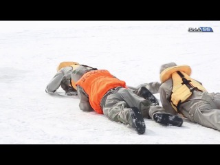 Оренбург. Спасатели показали, как помочь утопающему