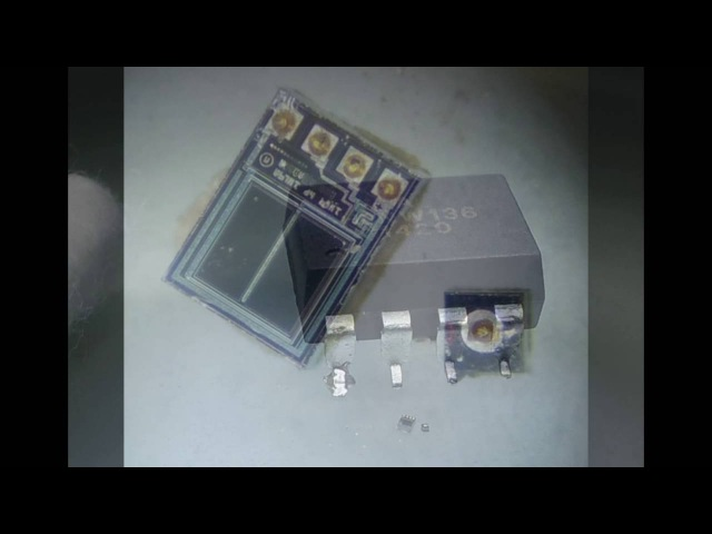 Что внутри оптрона Whaty inside opto-isolator