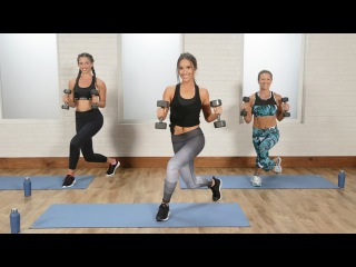 Torch Calories With This Cardio and Toning Boot Camp | Class FitSugar