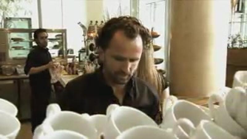 Barista Dritan Alsela - Latte Art