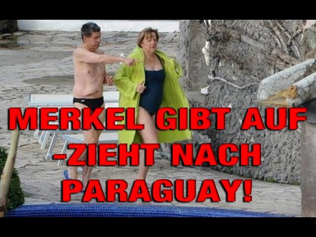 Angela Merkel gibt auf und zieht nach Paraguay