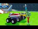 Машинки Мультики Про Монстер Траки и Супергерои Халк, Человек Паук, Принцесса Эльза. Kids Club
