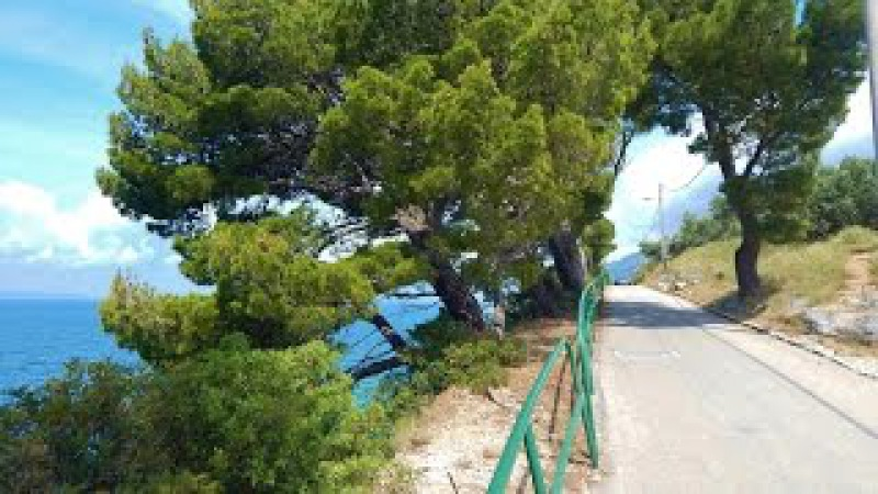 Croatia Makarska riviera Promenade and beaches Promajna Bratus Krvavica Makarska