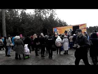 Масленица- русский праздник в Татарстане. Шок!!! 16 марта 2016 1 часть