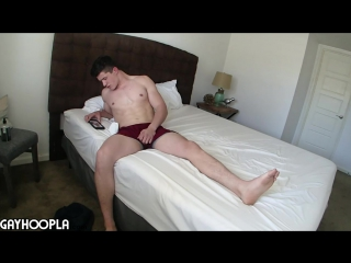 @ tall stud brett lucci jerks his cock (part 2)
