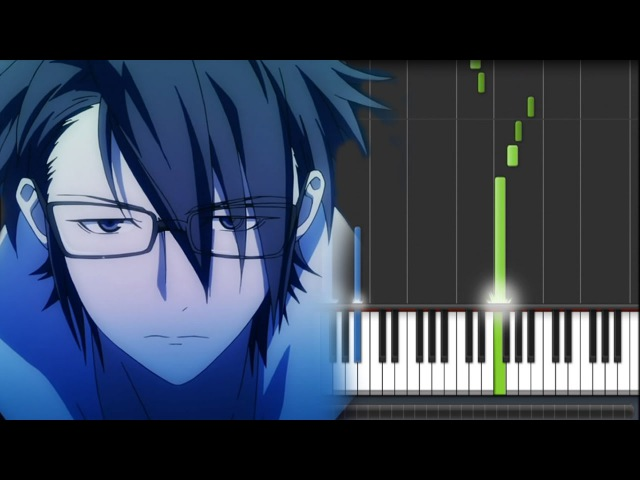 K Anime (アニメ「K」) OST - Kiss of Death (Piano Synthesia Tutorial Sheet)